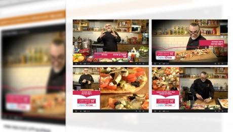 שופרסל - אריזה גרפית לסדרת סרטוני בישול עם השף שאול בן אדרת