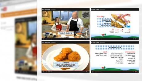תנובה - אריזה גרפית לסדרת סרטוני בישול עם ילדים